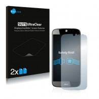 2x Ochranná fólia pre Acer Liquid Jade Plus - predná