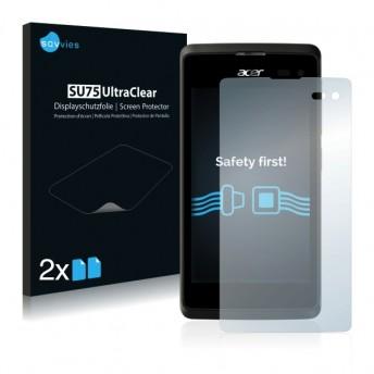 2x Ochranná fólia pre Acer Liquid M220 - predná