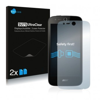 2x Ochranná fólia pre Acer Liquid M320 - predná