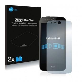 2x Ochranná fólia pre Acer Liquid M330 - predná