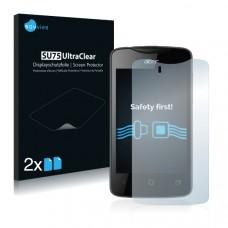 2x Ochranná fólia pre Acer Liquid Z3 Duo - predná