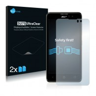 2x Ochranná fólia pre Acer Liquid Z520 - predná