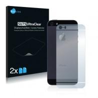 2x Ochranná fólia pre Apple iPhone 5S - zadná