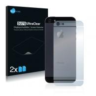 2x Ochranná fólia pre Apple iPhone 5 - zadná