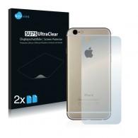 2x Ochranná fólia pre Apple iPhone 6s - zadná
