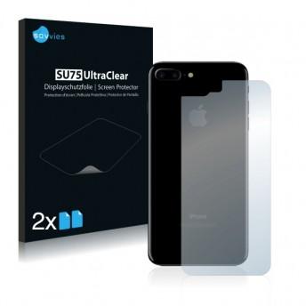2x Ochranná fólia pre Apple iPhone 7 Plus - zadná