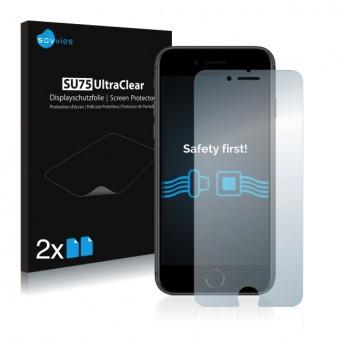 2x Ochranná fólia pre Apple iPhone 8 - predná