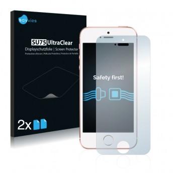 2x Ochranná fólia pre Apple iPhone SE - predná
