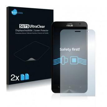 2x Ochranná fólia pre Asus Zenfone 2 Laser ZE550KL - predná