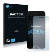 2x Ochranná fólia pre Asus Zenfone 4 A450CG - predná