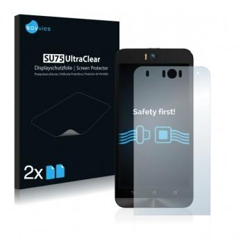 2x Ochranná fólia pre Asus Zenfone Selfie ZD551KL - predná