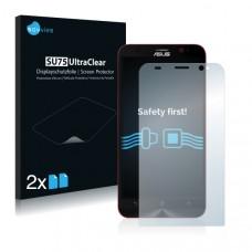 2x Ochranná fólia pre Asus ZenFone 2 Deluxe Special Edition - predná
