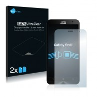 2x Ochranná fólia pre Asus ZenFone 2 Laser ZE600KL - predná