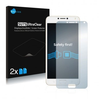 2x Ochranná fólia pre Asus ZenFone 4 MAX ZC554KL - predná