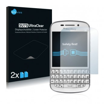 2x Ochranná fólia pre BlackBerry Q10 - predná