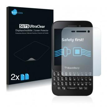 2x Ochranná fólia pre BlackBerry Q5 - predná