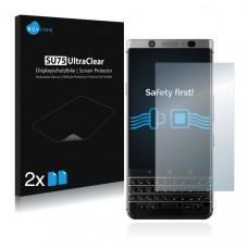 2x Ochranná fólia pre BlackBerry Keyone - predná