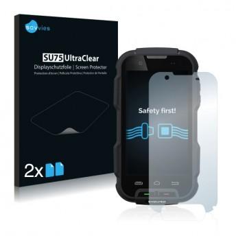 2x Ochranná fólia pre Evolveo StrongPhone Q4 - predná