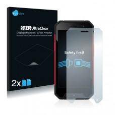 2x Ochranná fólia pre Evolveo StrongPhone Q7 - predná