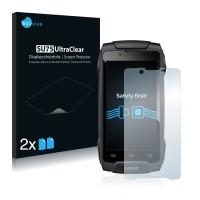 2x Ochranná fólia pre Evolveo StrongPhone Q8 LTE - predná