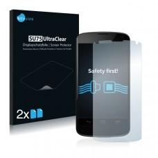 2x Ochranná fólia pre Google Nexus 4 - predná
