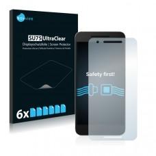 2x Ochranná fólia pre Google Nexus 6P - predná