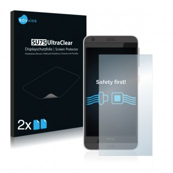2x Ochranná fólia pre HTC Desire 630 - predná