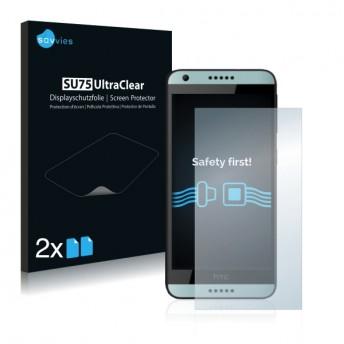 2x Ochranná fólia pre HTC Desire 650 - predná