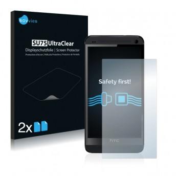 2x Ochranná fólia pre HTC ONE M7 - predná