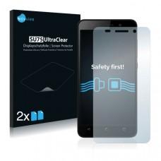 2x Ochranná fólia pre Huawei Honor 4X - predná