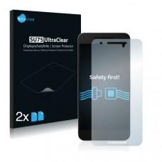 2x Ochranná fólia pre Huawei Nexus 6P - predná