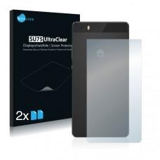 2x Ochranná fólia pre Huawei P8 lite - zadná
