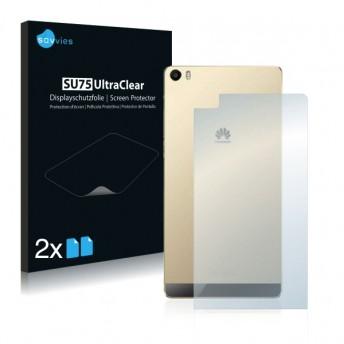 2x Ochranná fólia pre Huawei P8 Max - zadná