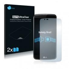 2x Ochranná fólia pre LG K10 - predná