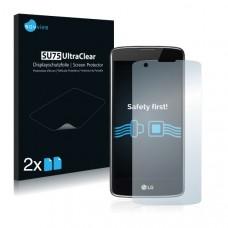 2x Ochranná fólia pre LG K8 - predná