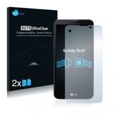 2x Ochranná fólia pre LG X Screen - predná