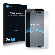 2x Ochranná fólia pre Meizu M2 - predná