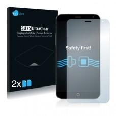 2x Ochranná fólia pre Meizu MX4 Ubuntu Edition - predná