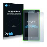 2x Ochranná fólia pre Microsoft Lumia 435 - predná