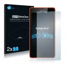 2x Ochranná fólia pre Microsoft Lumia 540 - predná