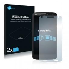 2x Ochranná fólia pre Motorola Moto X Force - predná