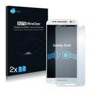 2x Ochranná fólia pre Motorola Moto X Style - predná
