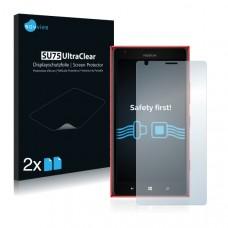 2x Ochranná fólia pre Nokia Lumia 1520 Bandit - predná