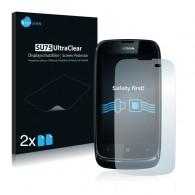 2x Ochranná fólia pre Nokia Lumia 610 - predná