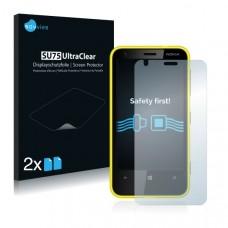 2x Ochranná fólia pre Nokia Lumia 620 - predná