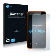 2x Ochranná fólia pre Nokia Lumia 630 Dual Sim - predná