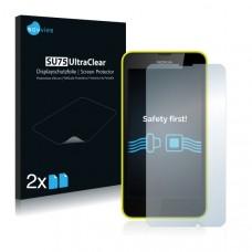 2x Ochranná fólia pre Nokia Lumia 635 - predná