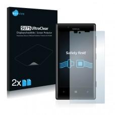 2x Ochranná fólia pre Nokia Lumia 720 - predná