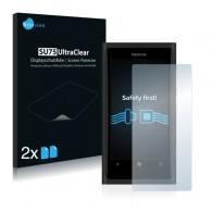 2x Ochranná fólia pre Nokia Lumia 800 - predná