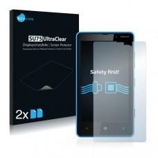 2x Ochranná fólia pre Nokia Lumia 820 - predná